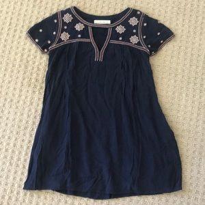 Abercrombie Navy crepe dress